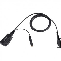 Hytera ACN-02 Microphone & PTT for ES-01/EH-01/EH-02 Earpiece